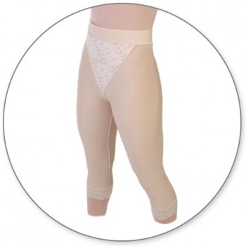 15-MCCCP-Slip On Mid Calf Girdle Closed Crotch - Contour MD Style 15