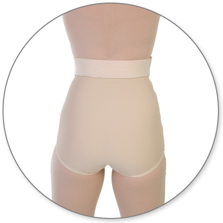 15-POCP-Slip on Panty Girdle, Open Crotch - Contour MD Style 15