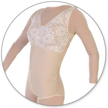 32Z-BBSWZIPP-Brief Body Shaper with Side Zippers - Contour MD Style 32Z